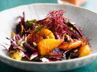 Rote-Bete-Salat mit Orangen und Radicchio Rezept