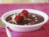 Rote-Bete-Suppe auf ayuvedische Art