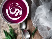 Rote-Bete-Suppe mit Dill Rezept