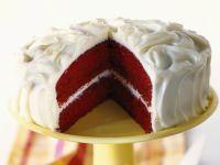 Rote-Schokoladentorte (Red Velvet Cake) Rezept