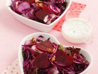 Rotkohl-Rote Bete-Salat Rezept