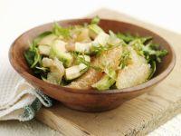 Rucola-Avocado-Salat mit Grapefruit Rezept