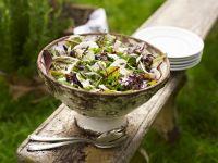 Rucola-Champignon-Salat Rezept