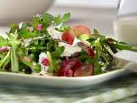 Rucola-Estragon-Salat