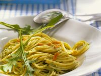Rucola-Spaghetti Rezept