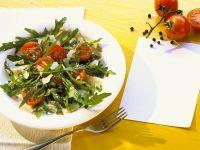Rucola-Tomatensalat Rezept