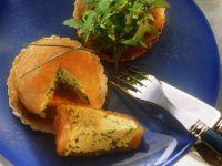 Rührei im Räucherlachsmantel auf Toast Rezept