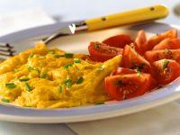 Rührei mit Tomaten Rezept