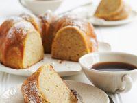 Rührkuchen mit Mandeln und Orange Rezept