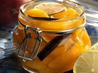 Rum-Pfirsiche Rezept