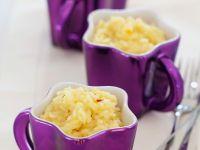 Safranrisotto mit Zitrone Rezept