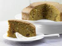 Saftiger Möhren-Nuss-Kuchen Rezept