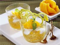 Sagocreme mit Jackfruit Rezept
