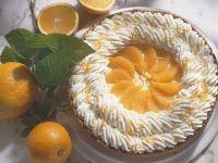 Sahne-Orangentorte Rezept