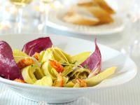 Salat aus marinierten Artischockenherzen Rezept