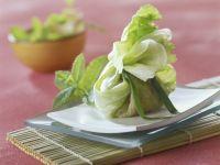 Salat-Hackfleisch-Päckchen