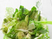 Salat mit Artischocken Rezept