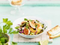 Salat mit Avocado Rezept