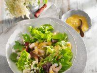 Salat mit Crevetten