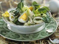 Salat mit Eiern und Meerrettich Rezept