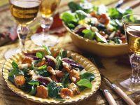 Salat mit geräucherter Entenbrust Rezept