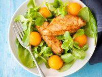 Salat mit Hähnchen und Melone Rezept