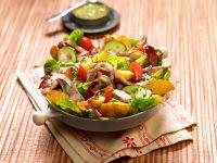 Salat mit Kninchen und Kartoffeln