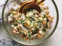 Salat mit Matjeshering