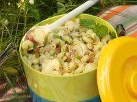 Salat mit Nudeln und Artischocken Rezept
