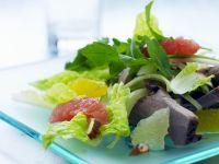 Salat mit Rind und Zitrusfrüchten Rezept