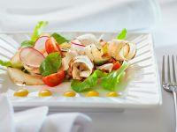 Salat mit Schwarzwurzel, Tomaten und Radieschen Rezept