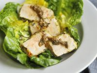 Salat mit Thunfisch aus dem Ofen Rezept