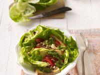 Salat mit Tofu und Salsa Rezept