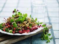 Salat mit Walnüssen