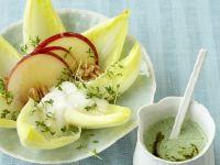 Salat mit zweierlei Dressings Rezept