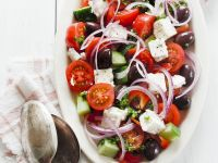 Salat nach griechischer Art