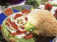 Salat-Sandwich Rezept