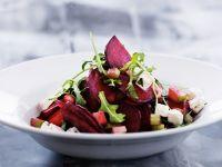 Salat von Roter Bete, Rucola und Feta Rezept