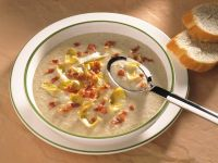 Salatcremesuppe Rezept