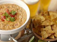 Salsa mit Dip und Tortillachips Rezept