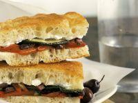 Sandwich mit gebratenem Gemüse Rezept