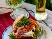 Sandwich mit Hähnchenbrust Rezept