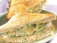 Sandwich mit Hähnchensalat Rezept