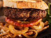 Sandwich mit Hirschfrikadelle Rezept