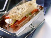 Sandwich mit Paprika und Käse Rezept