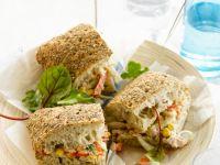 Sandwich mit Thunfisch und Mais Rezept