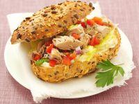 Sandwiches mit Thunfisch