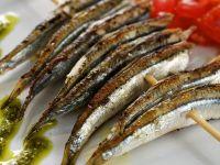 Sardellen vom Grill mit Pesto Rezept