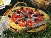 Sardellen-Zwiebel-Kuchen Rezept