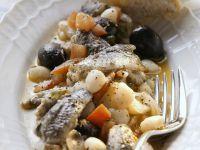 Sardellensalat mit weißen Bohnen Rezept